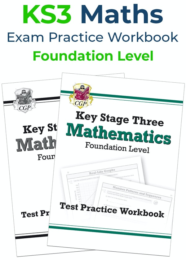 KS3 Maths Exam Practice Workbook (Foundation)