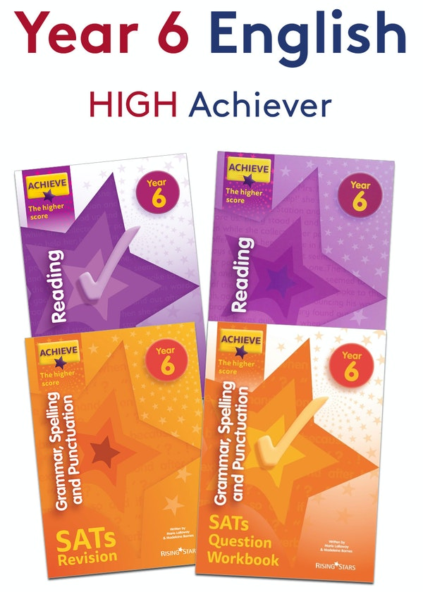 KS2 SATs High Achievers English Pack