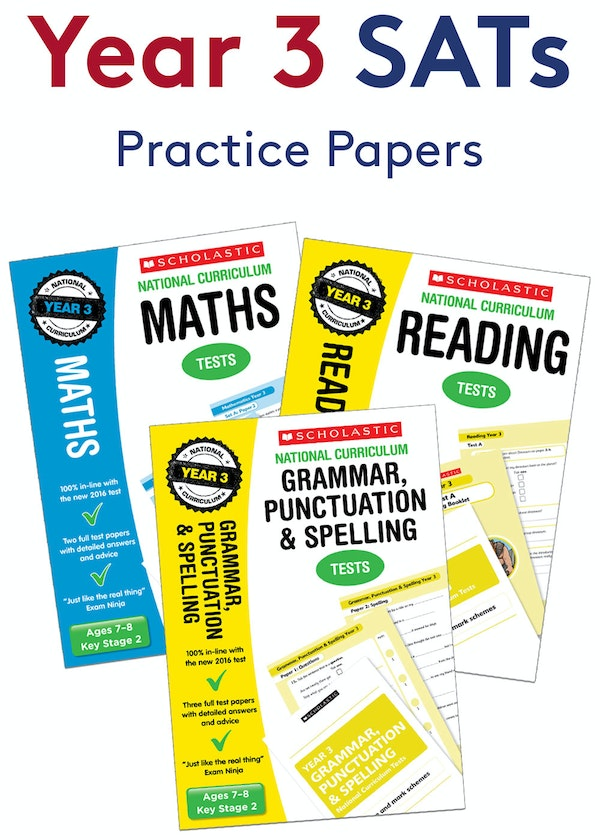 Year 3 SATs Practice Papers Pack
