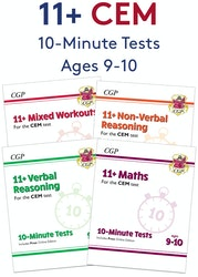 CEM 11+ 10-Minute Tests Pack (Ages 9-10)