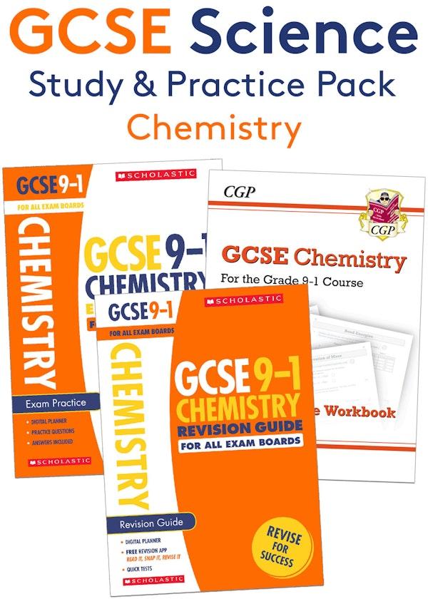 GCSE Chemistry Complete Study & Practice Pack
