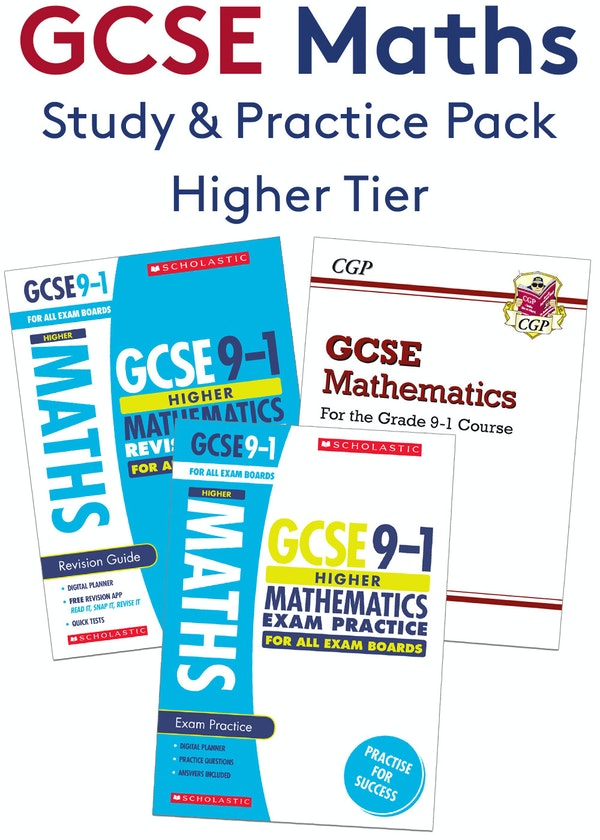 GCSE Maths Complete Study & Practice Pack (Higher)