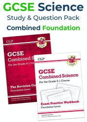 GCSE Combined Science Study & Practice Pack (Foundation)