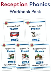 Reception Phonics Workout Pack (Ages 4-5)
