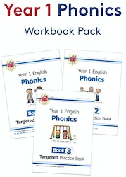 Year 1 Phonics Workout Pack (Ages 5-6)