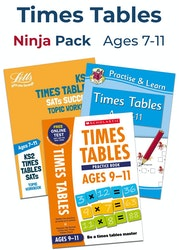 Times Tables Ninja Pack (Ages 7-11)