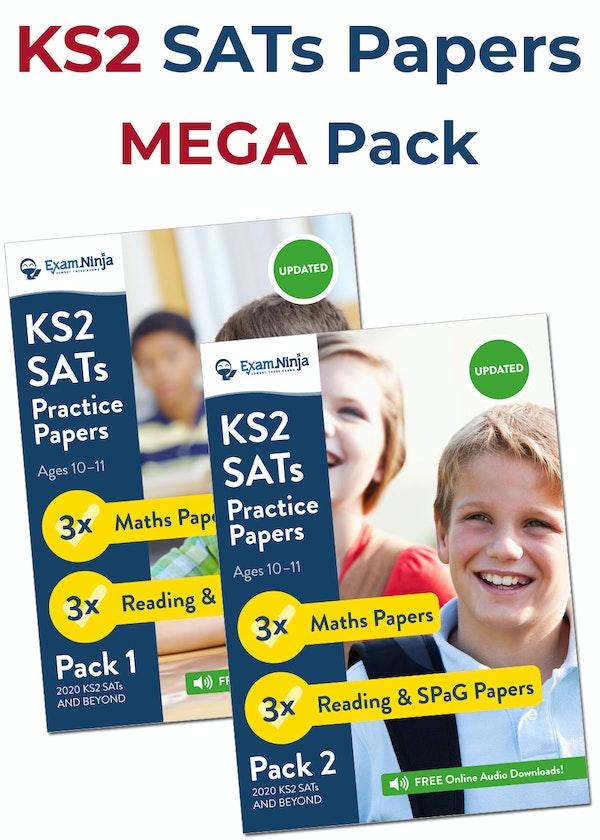 KS2 SATs Practice Papers MEGA Pack
